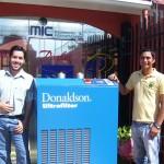 DONALDSON-Montaje Secadora de Aire Comprimido