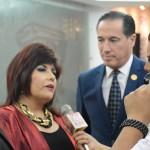 Gerente Gral. Lic. Maria Teresa Chacon en entrevista a Medios
