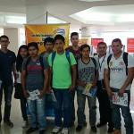 Visita Guiada Muestra Ferial de los Estudiantes de Ingenieria Industrial de la Universidad UTEPSA