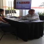 Gerente de Adquisiciones de NUDELPA realiza consultas directas con el fabricante Fernando Szwec, Gerente de FRIO RAF