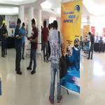 Espacio de la Muestra Ferial en el Centro de Convenciones Buganvillas